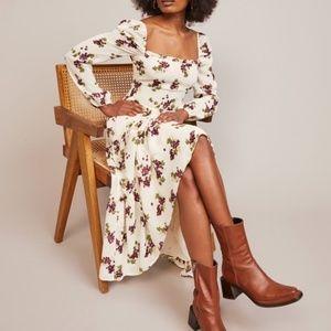 REFORMATION Kellie Grapevine Midi Dress New 6